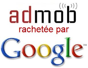La FTC enquête sur le rachat d'AdMob par Google