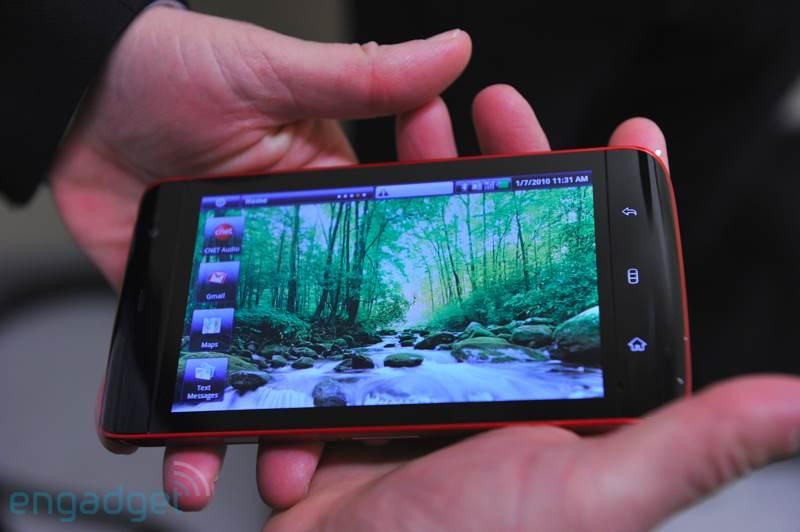 CES 2010 : Dell dévoile presque sa tablette Streak
