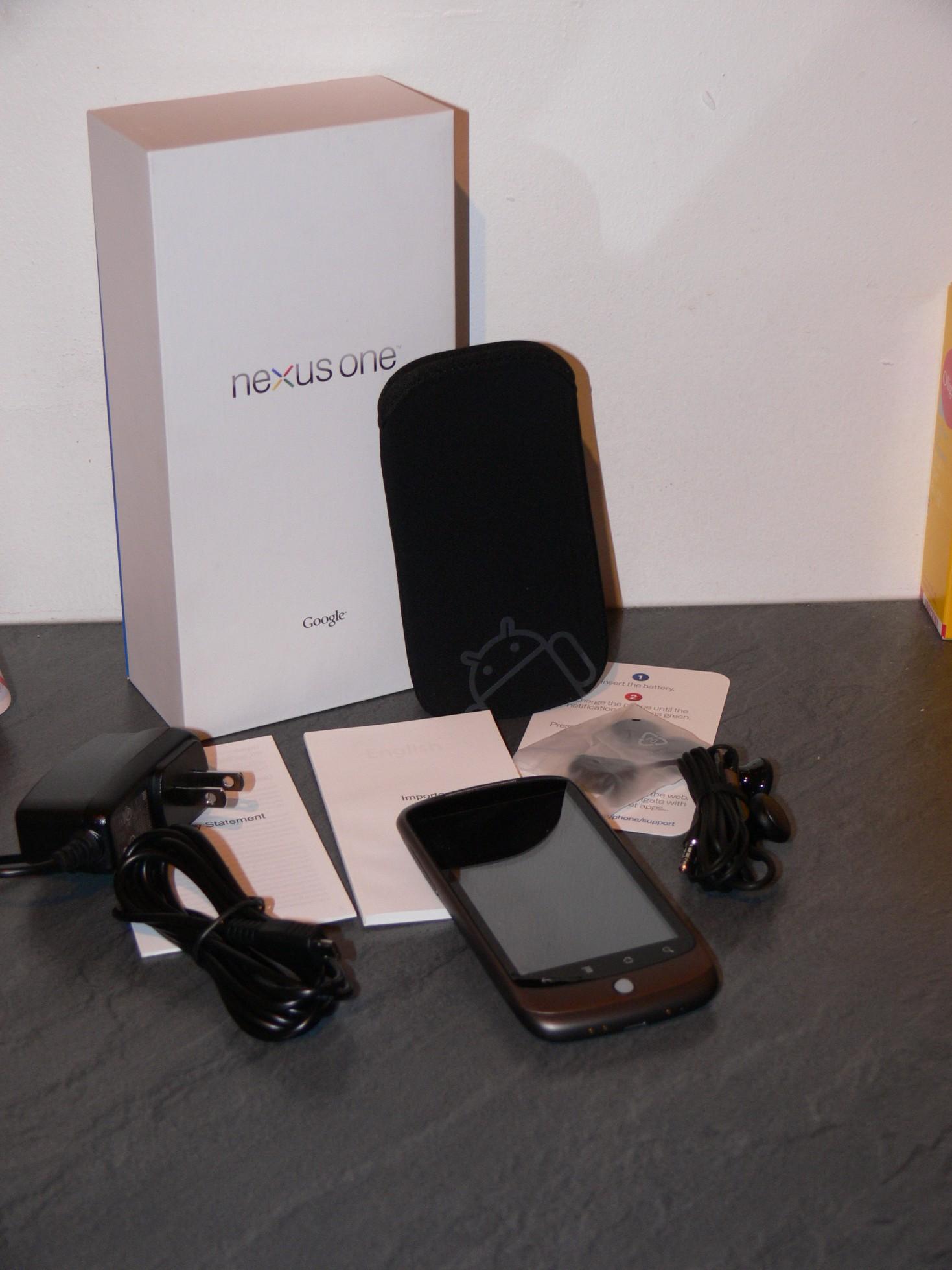 [Exclu] Test du Google Nexus One par Frandroid