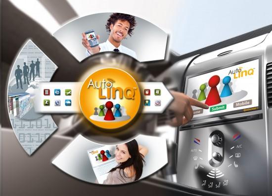 Continental présente AutoLinQ propulsé à l'Android