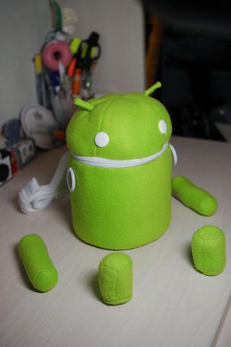 Android en sac-à-dos amateur !