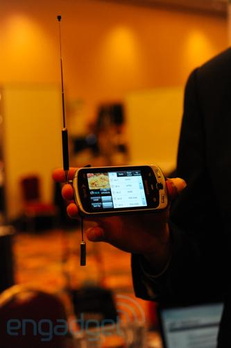 CES 2010 : Samsung intègre la télévision dans le Moment
