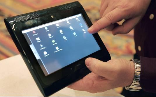 CES 2010 : La tablette Motorola sous Android