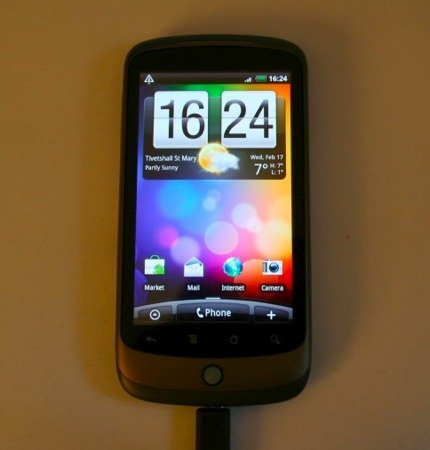 HTC Sense sur un Nexus One