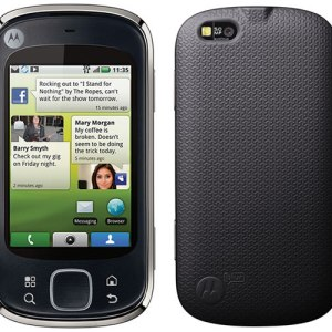 Le Motorola Cliq XT sous Android sort demain aux Etats-Unis