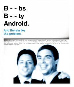 Apple censure le mot «Android» sur l'App Store