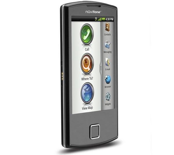Garmin-Asus annonce le nüvifone A50 sous Android