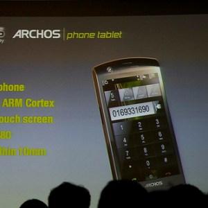Archos Phone Tablet : projet immobilisé ?