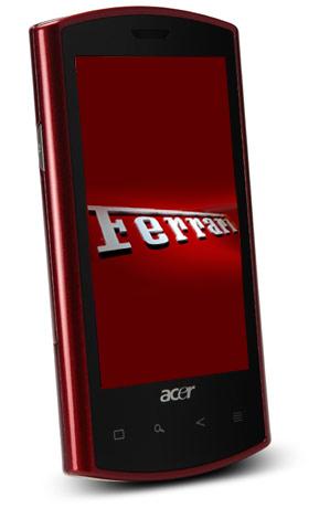 Acer Liquid E et beTouch E110 : prix et disponibilités
