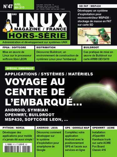 GNU/Linux Magazine, hors-série sur Android