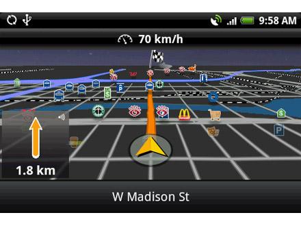 MobileNavigator de Navigon enfin disponible sur Android