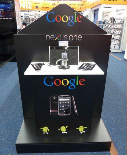 Saturn fait du merchandising avec le Nexus One