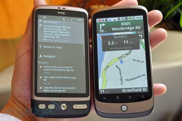Google Maps Navigation débarque en Europe mais pas encore en France