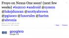 Android 2.2 «Froyo» sur le Nexus One ? Très bientôt !