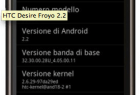 HTC Desire : Première ROM Android 2.2 alias Froyo