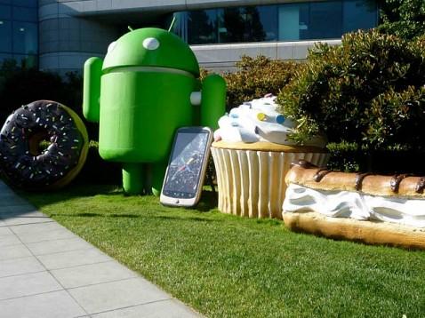 Froyo débarque au Googleplex