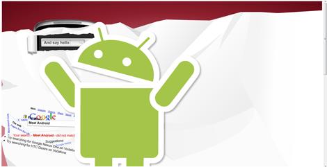 Un easter egg spécial Android chez Google UK