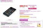 Le Samsung Galaxy S disponible sur Pixmania
