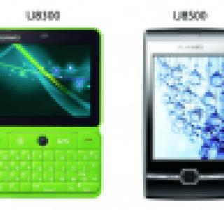 Huawei : U8300 et U8500, deux nouveaux androphones low-cost