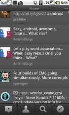 TweetDeck : Une nouvelle mise à jour qui supporte le multi-compte et Android 1.6 !