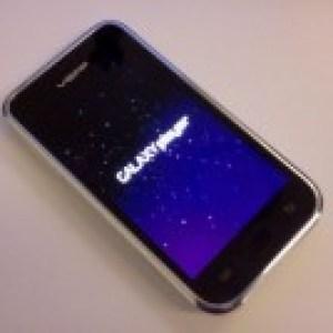 Samsung YP-MB2 (Galaxy Touch ou Player) : De nouvelles photos !