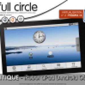 APad iRobot testé dans Full Circle Magazine