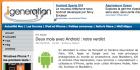 iGeneration a passé deux mois avec Android