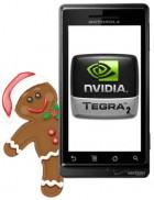 Rumeur : Le premier smartphone sous Tegra 2 et le fameux Gingerbread chez Motorola ?