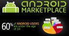 (Infographie) 60% des utilisateurs d'Android ont moins de 34 ans