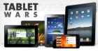 Infographie sur la guerre des tablettes