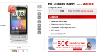 Virgin Mobile et les promos : Samsung Galaxy Tab, HTC Desire en blanc, etc…