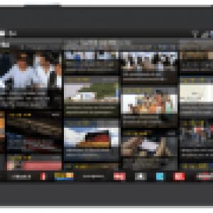 Orange sort une version de 2424actu dédiée aux petites et grandes tablettes Android
