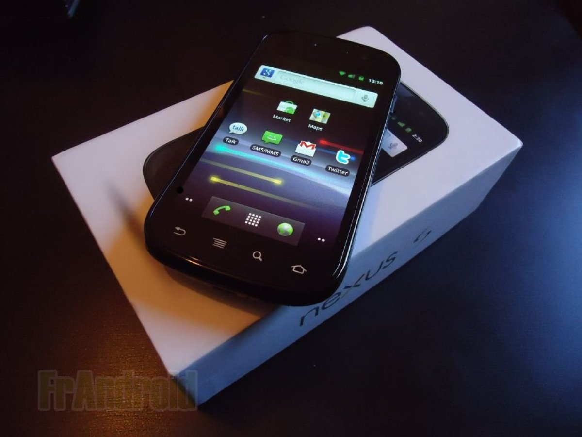 Test du Google Nexus S sous Android