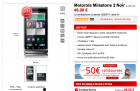 Le Motorola Milestone 2 disponible sur Virgin Mobile