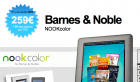 Le Nook Color disponible sur Qoqa.fr à 259 euros