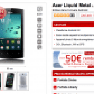 Virgin Mobile et FrAndroid : L'Acer Liquid Metal pour 0 euro
