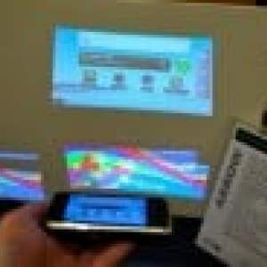Microvision présente une mini tablette équipée d'un pico-projecteur