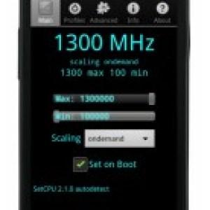 Le Google Nexus S a été overclocké à 1,3 GHz (MàJ)