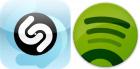 Shazam & Spotify fondent un partenariat !