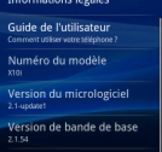 Sony Ericsson met à jour ses Xperia X10 et X8, avec le multitouch uniquement pour le X10