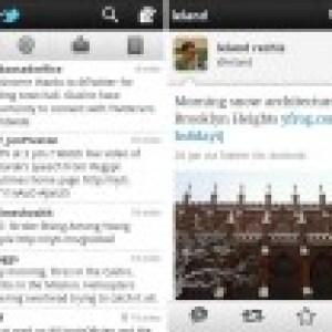 L'application officielle «Twitter» passe à la version 2.0.1