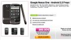Le Google Nexus One à 389 euros sur GrosBill