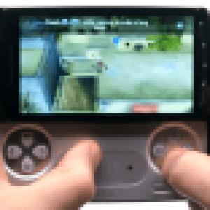 Vidéo des jeux que proposera Gameloft pour le Xperia Play