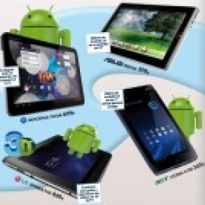 Prix des Motorola Xoom, LG Optimus Pad, Asus Eeepad et Acer Iconia A100 en Espagne : moins cher que prévu