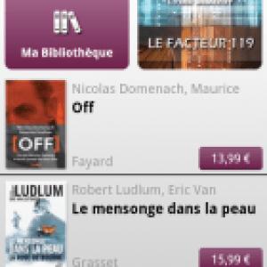 Numilog : les œuvres littéraires françaises sur Android