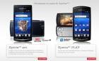Précommandes pour les Sony Ericsson Xperia Arc et Play chez Rogers, dès $99.99