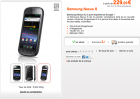 Le Google Nexus S chez Orange à partir de 229€ !