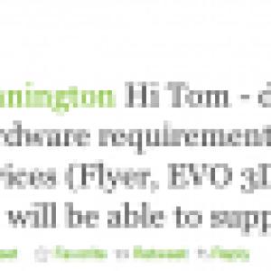 HTC Sense 3.0 sera uniquement disponible sur les Sensation, Flyer et EVO 3D