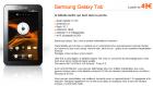 La Samsung Galaxy Tab 7 pouces est à partir de 49€ chez Orange et même 299€ sans engagement !