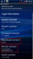 Le bootloader du Sony Ericsson Xperia X10 serait déverrouillé !